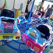 Mainan Odong Kereta Panggung Rjm Motor Kelinci