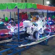 Mainan Ank Kereta Panggung Odong Rjm Mobil Aki Mini