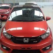 Honda Brio Merah Merona