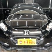 Honda HRV 1.5 E CVT AT 2018 Hitam KM 2rb-An