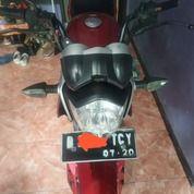Yamaha Vixion Old 2010 Merah Pajak Panjang