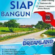 Kavling Kampus Dreamland Jalan Tawangmangu Dekat Pintu Kampus Poltek Jember