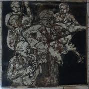 Lukisan Musik Karya Maestro Hassan Pratama Tahun 2002