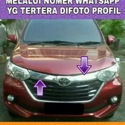 Hood Moulding Cover Grill Chrome Grand Great New Avanza Xenia