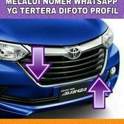 Lis List Bemper Depan Chrome Grand Great New Avanza Xenia