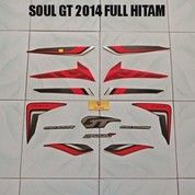 Striping Soul GT 2014 Full Hitam
