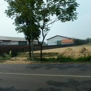Tanah Dan Gudang Di Mojokerto Dekat Mojosari, Nol Jalan Raya