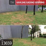 Kavling Gading Serpong, Cluster Trimezia, Tangerang, 12x15m, PPJB
