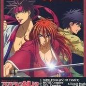 DVD Samurai X (Rurouni Kenshin) Super Complete Murah