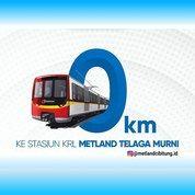 Rumah Murah Dekat Stasiun Di Metland Cibitung