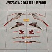 Striping Verza CW 2013 Full Merah