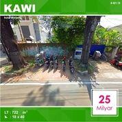 Tanah Luas 722 Di Kawi Atas IJEN Kota Malang _ 401.19