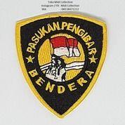 Bedge Pasukan Pengibar Bendera Atau Aksesoris Paskibra