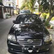 Mobil Hyundai Avega GX 2012 Hitam Metalic Automatic Mulus