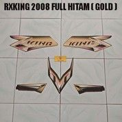Striping RXKing 2008 Full Hitam ( Gold )