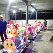 Pasar Malam Kereta Lantai Odong Risma Rjm Mandi Bola