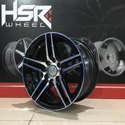 Velg Mobil HSR PS5 EMR592 Ring 14 Untuk Brio Agya Alya Calya Avanza Xenia