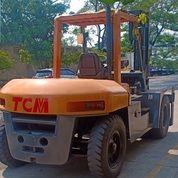 Alat Berat Fork Lift TCM Kapasitas 10 Ton Tahun 2014