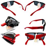 Kacamata Lipat Black Red