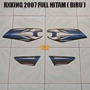Striping RXKing 2007 Full Hitam ( Biru )