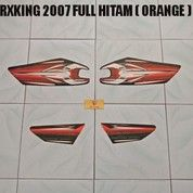 Striping RXKing 2007 Full Hitam ( Orange )