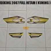 Striping RXKing 2007 Full Hitam ( Kuning )