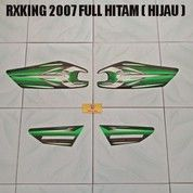 Striping RXKing 2007 Full Hitam ( Hijau )
