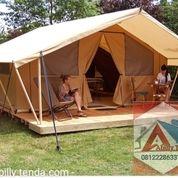 Pembuatan Tenda Glamping