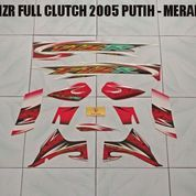 Striping FIZR Full Clutch 2005 Putih - Merah