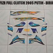 Striping FIZR Full Clutch 2005 Putih - Biru