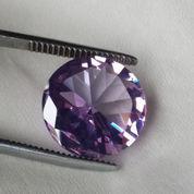 Batu Amethyst Crystal Cutting Perhiasan Jewelry