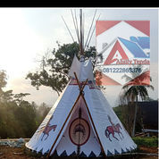 Tenda Glamping Tipi Indian