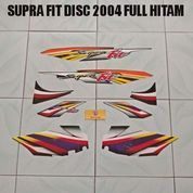 Striping Supra Fit Disc 2004 Full Hitam