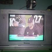 TV 18 Inchi Tabung Flat Merk Tomico Siap Tonton Plus Remot