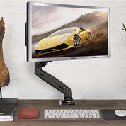 Bracket Monitor Komputer Meja Gas Strut Desktop Mount: F80 17-27