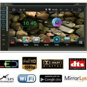 ANDROID Audio Headunit Double Din Mobil Universal Avelino Terbagus
