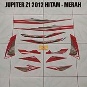 Striping Jupiter Z1 2012 Hitam - Merah