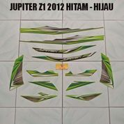 Striping Jupiter Z1 2012 Hitam - Hijau