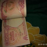 UANG KUNO Rp.100 KERTAS TAHUN 1992