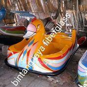Bebek Kuning Sepeda Air Fiberglass