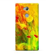Colorful Paint In Water Sony Xperia XA2 Ultra Custom Hard Case