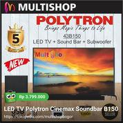 LED TV Polytron Cinemax Soundbar B150