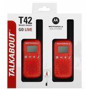Walkie Talkie Motorola TALKABOUT Two Way Radio T42