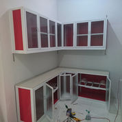 Kitchen Set Aluminium Dan Kaca