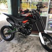Kawasasi Treker 150 Cc Tahun 2017 Udah Jadi Super Moto Gan Edisi Gak Kepakai