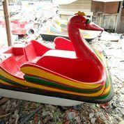 Sepeda Air Fiberglass Merah New