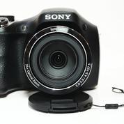 Sony Cyber-Shoot DSC-H300 Prosumer 20 MEGAPIXEL Mantaps