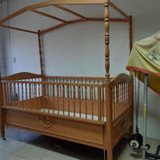 Ranjang Baby Kayu Artistik & Simple