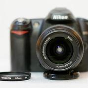 Nikon D50 Kit 18-55mm F.3.5-5.6G Mulus