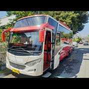 Bus Medium Canter 136 Ps Tahun 2016 Body Baru Siap Keeja